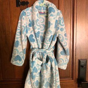 Jelli Fish girls super plush and soft bath robe
